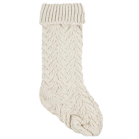 Носок для подарков Stocking white
