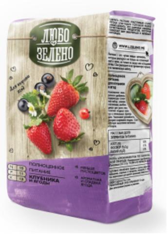 Удобрение ЛЮБО-ЗЕЛЕНО Клубника и ягоды 1 кг СОТКА