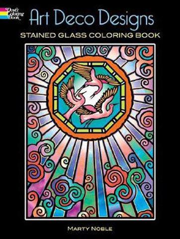 9780486448145 - Art Deco Designs Stained Glass Coloring Book