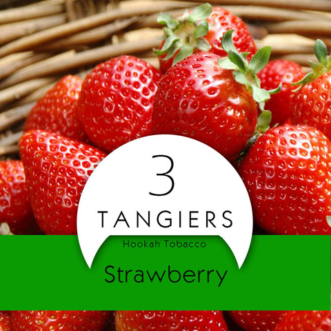Табак Tangiers 100 г Birquq Strawberry