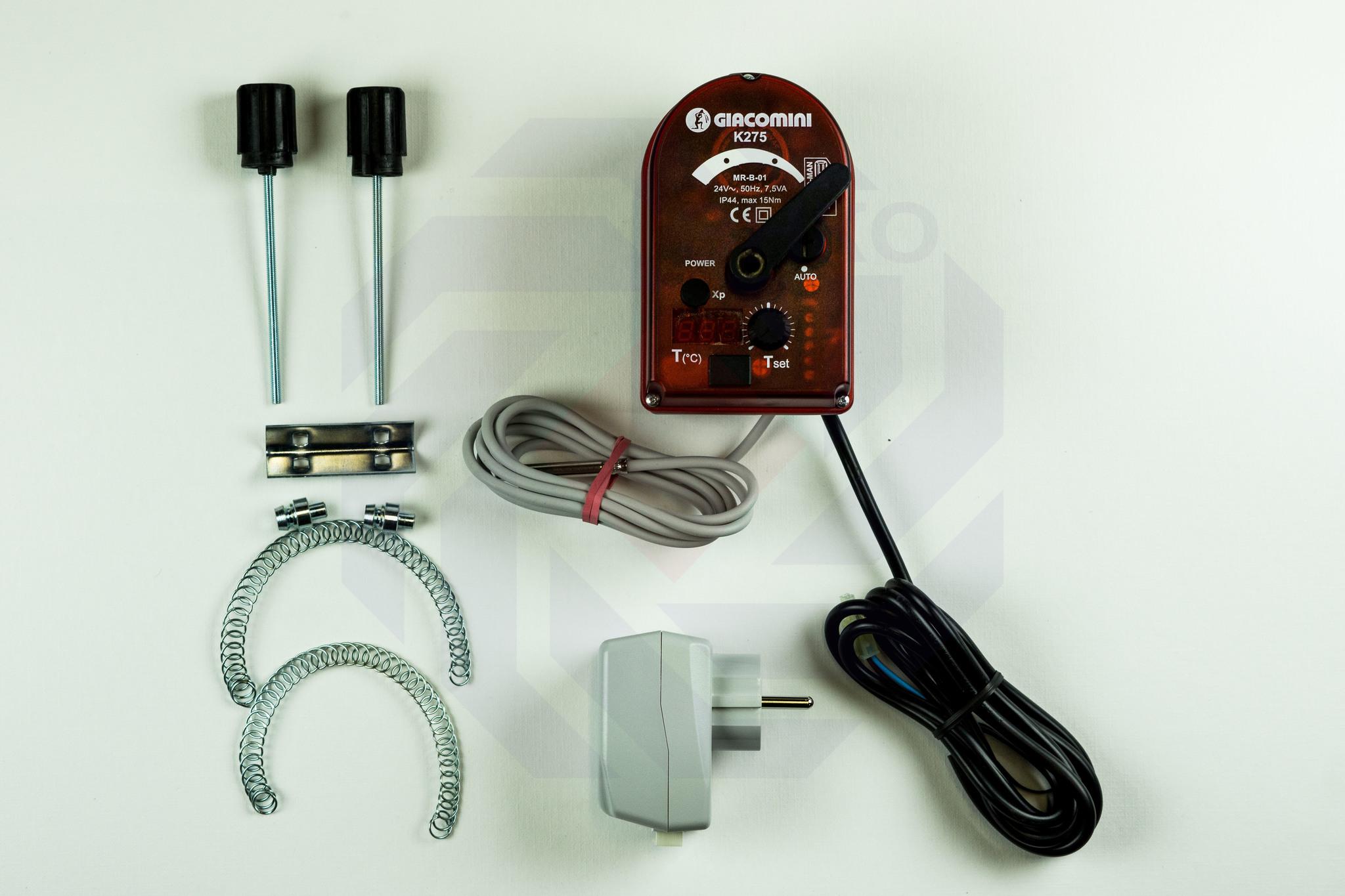 Электропривод поворотный со встроенным терморегулированием GIACOMINI K275