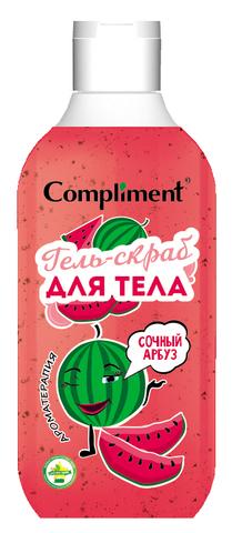 Compliment Гель-скраб для тела «Сочный арбуз»