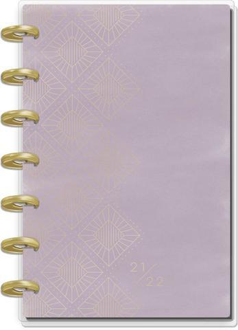 Ежедневник на 12 месяцев с июля 2021 по июнь 2022 - Girl With Goals Mini Vertical Happy Planner  - 12,5х18см