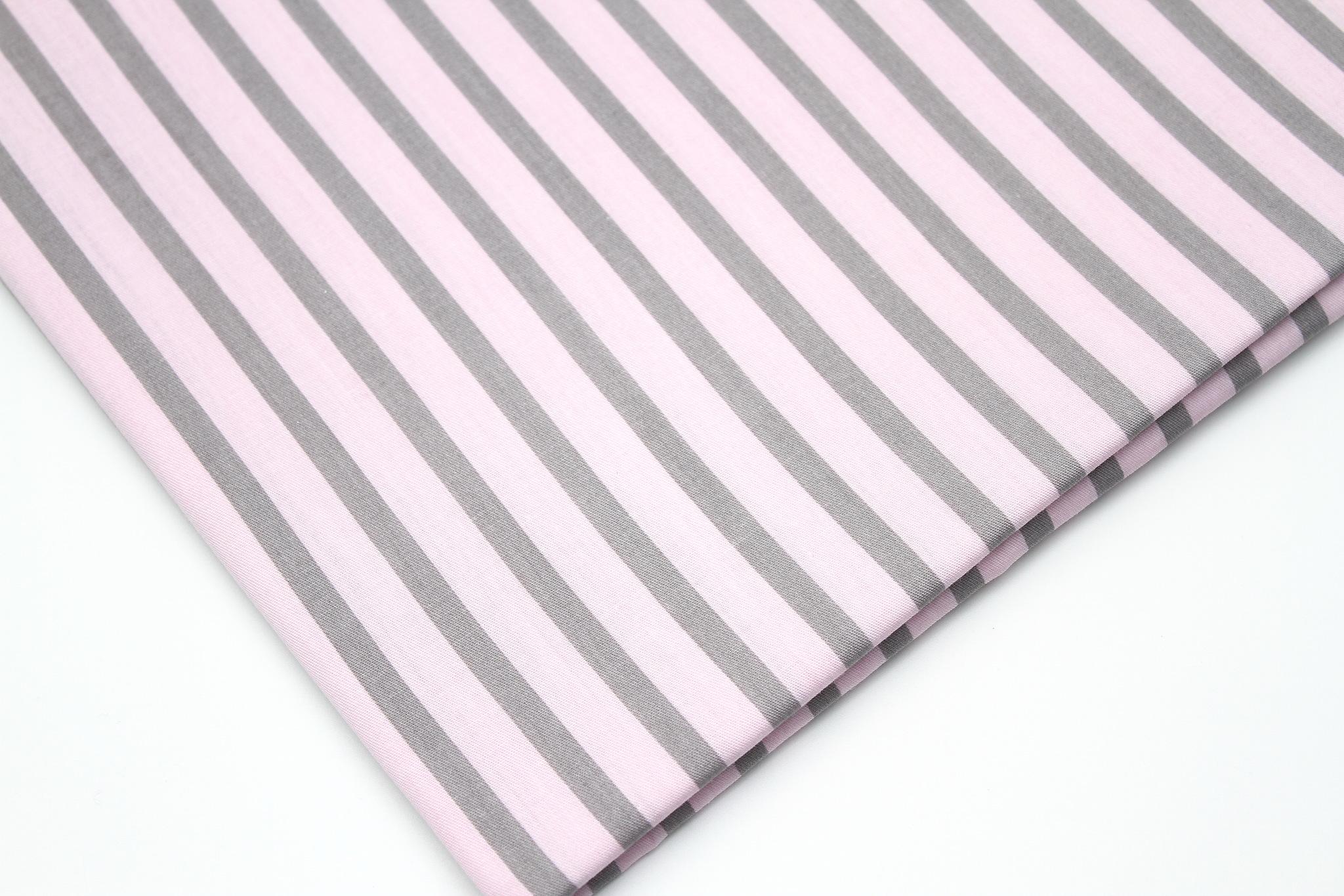 Полоски серо-розовые