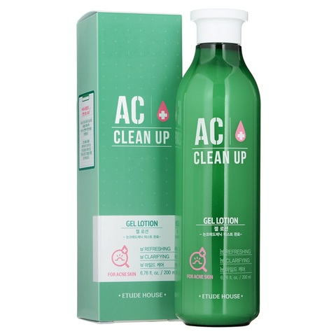Etude House Ac Clean Up Gel Lotion лечебный лосьон для проблемной кожи с акне