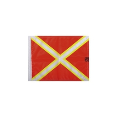 Diving flag with Saint-Andrew's cross