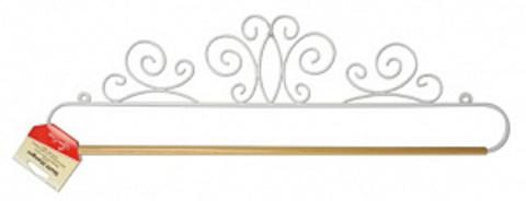 Хангер фигурный для лоскутного панно или вышивки, ширина 50,8 см (арт ERQH37.20WH)