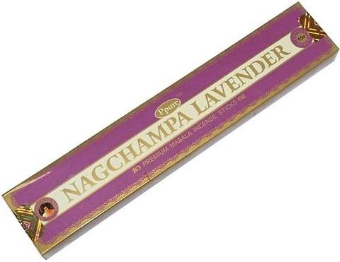 Индийские палочки Ppure NagChampa Lavander