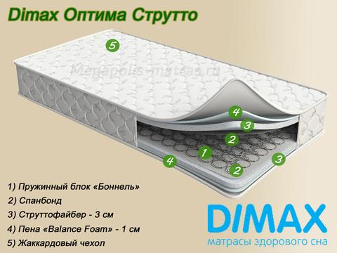 Матрас Dimax Оптима Струтто от Мегаполис-матрас