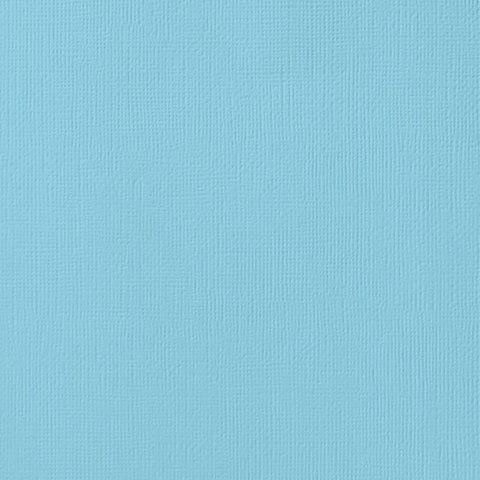 Текстурированный кардсток 30х30 American Crafts Textured Cardstock - Цвет Powder