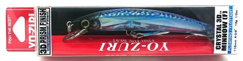 Воблер Yo-Zuri Crystal 3D Minnow 110 F / F1146-C24