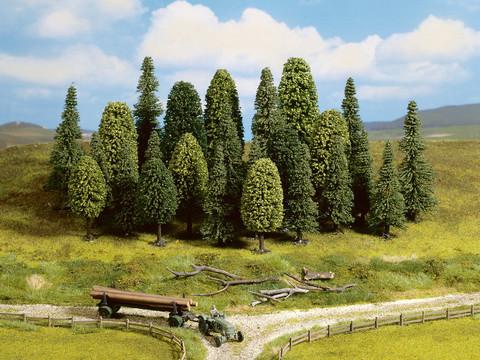 Смешанный Лес - 25 шт, (6,5-15 см)