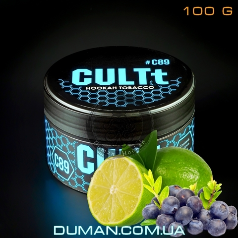 Табак CULTt C89 Blueberry Lime (Культ Голубика Лайм)