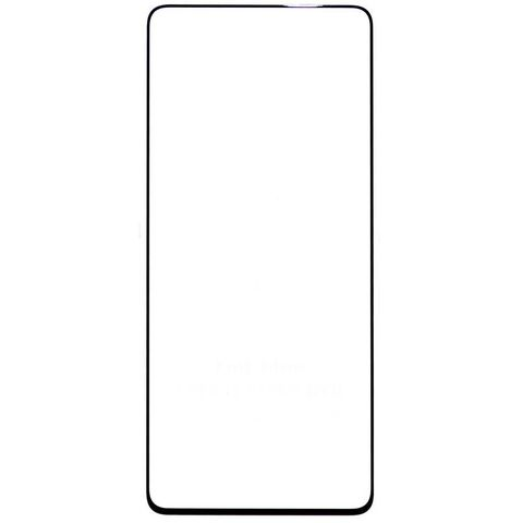 Защитное стекло для Samsung Galaxy A71 (SM-A715F) с черной рамкой 2,5D Full Glue