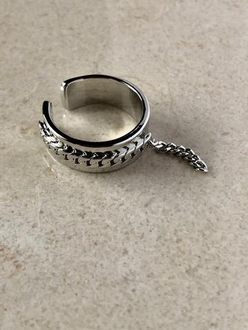 Кольцо Иккинг, серебряный цвет