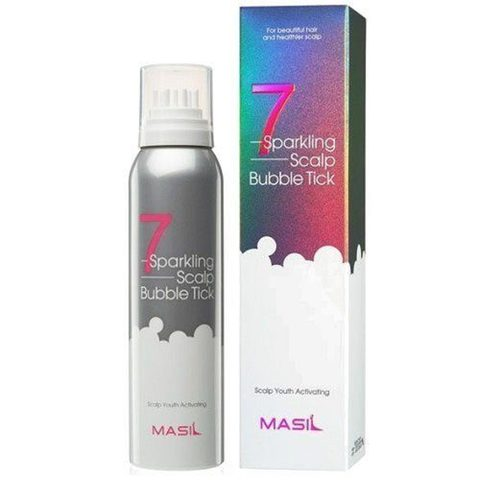 Masil Пилинг очищающий для кожи головы - 7 Sparkling scalp bubble tick