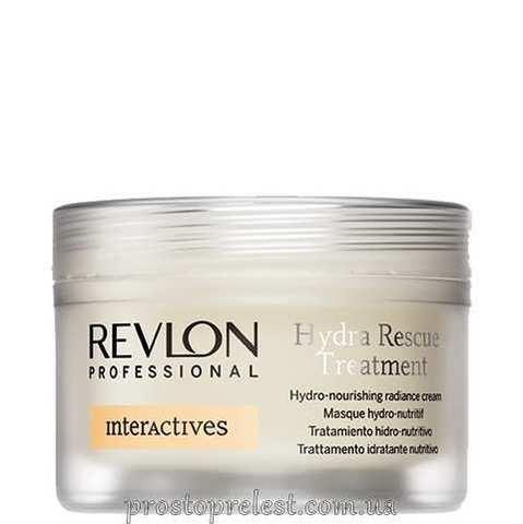 Revlon Professional Interactives Hydra Rescue Treatment - Лечебный увлажняющий крем для сухих волос