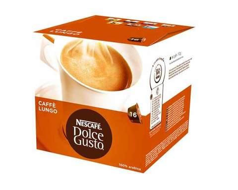 Кофе в капсулах Dolce Gusto Lungo, 16 капсул