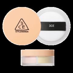 Пудра 3CE Blur Filter Powder #Peachy 7g