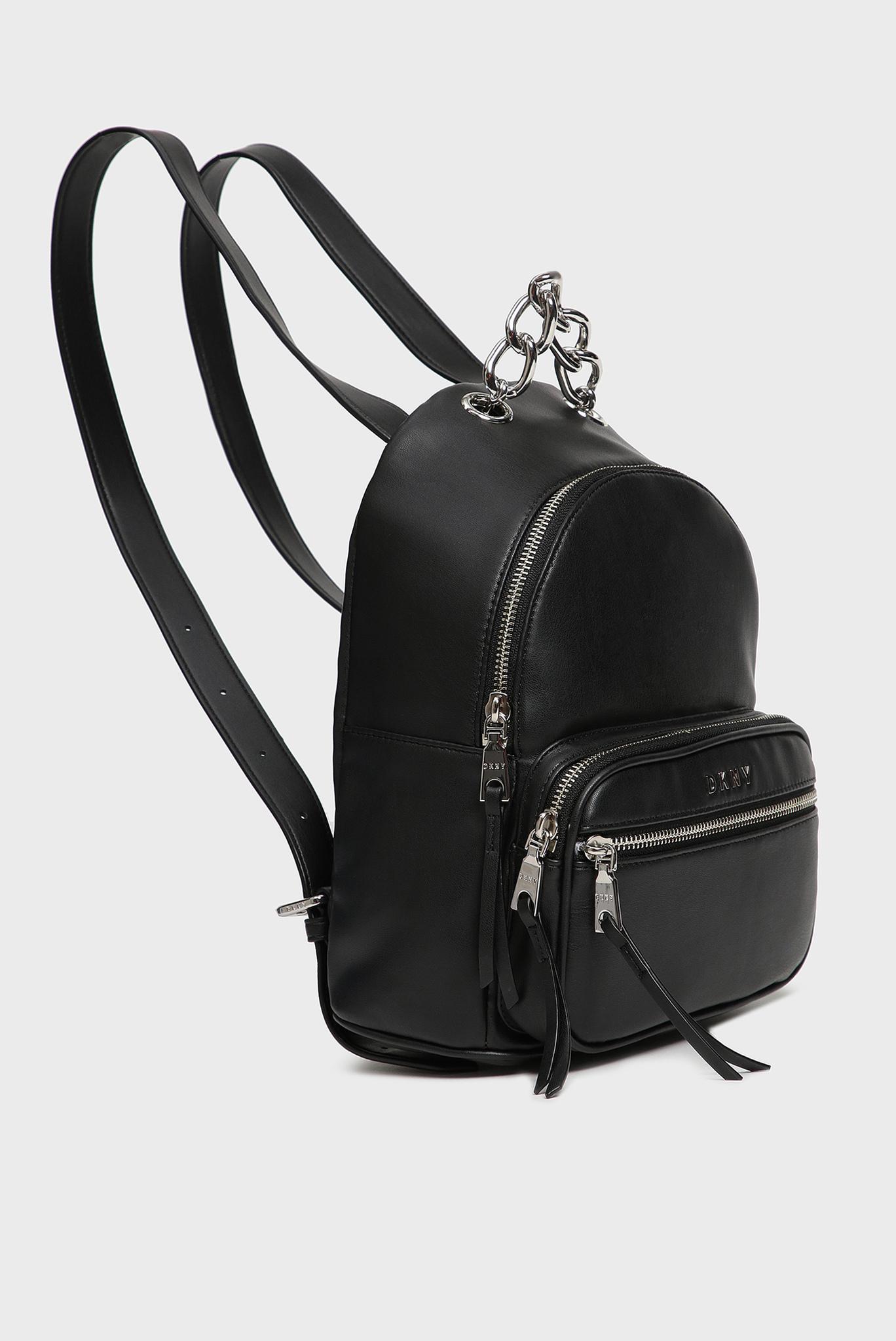 Женский черный рюкзак Abby DKNY