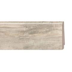 Плинтус шпонированный Tarkett Art White Canvas 2400х80х20 мм