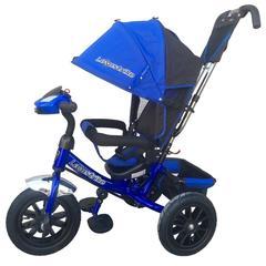 Велосипед Lexus trike 12x10 Надувные, светомуз. панель, Синий (950M2-N1210P-Blue)