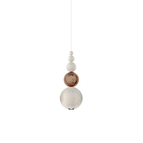 Подвесной светильник копия Bubble by Innermost (бронзовый/белый)