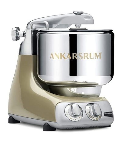 Тестомес Ankarsrum Assistent Original AKM 6230 SG, брызги шампанского, фото
