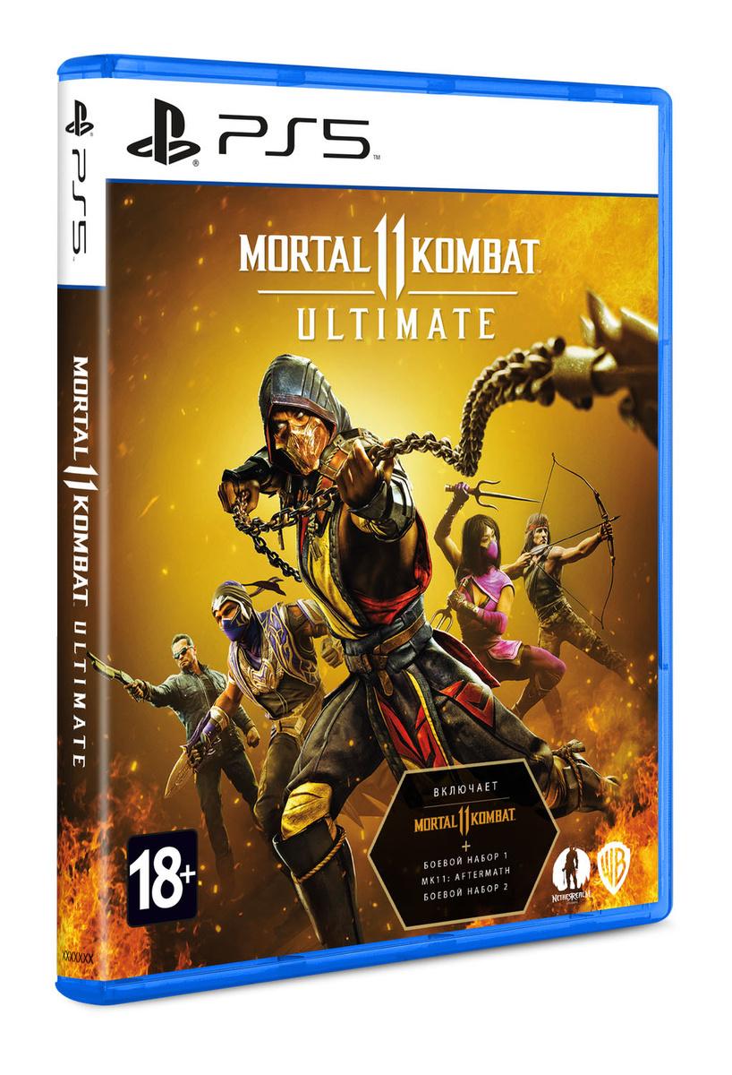 Mortal Kombat 11 Ultimate для PS5 купить в интернет-магазине Sony Centre Воронеж