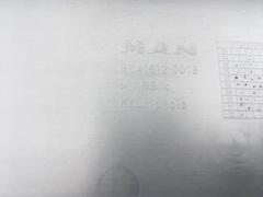 Откидная защитная крышка на бампере МАН ТГЛ  Держатель номерного знака МАН/MAN  OEM MAN - 81416120018