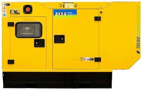 Дизельный генератор Aksa APD20A в кожухе