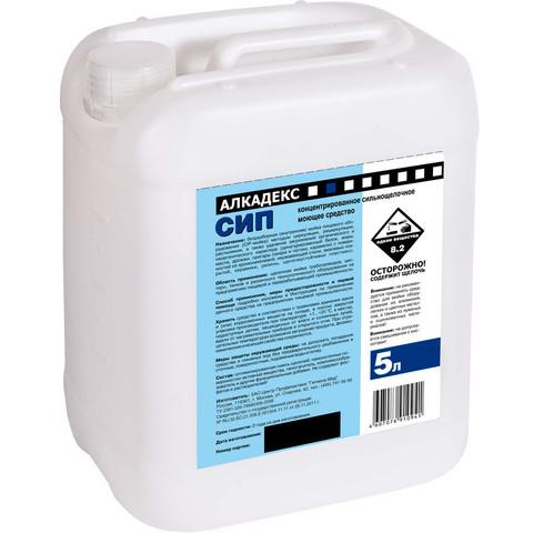 Средство для CIP-мойки пищевого оборудования Алкадекс СИП 5 л (концентарт)