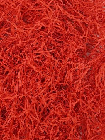 Бумажный наполнитель Кораллово-Красный, 50 гр