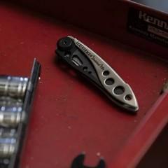 Складной нож Leatherman Skeletool KBX Black & Silver (832619) | Multitool-Leatherman.Ru