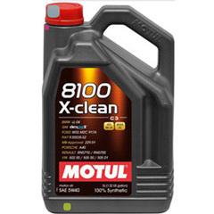 Motul 8100 X-clean GEN2 5W40 5 л