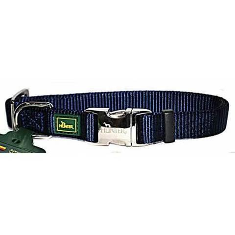 HUNTER Ошейник для собак нейлоновый с металлической застежкой ALU-Strong M (40-55 см)