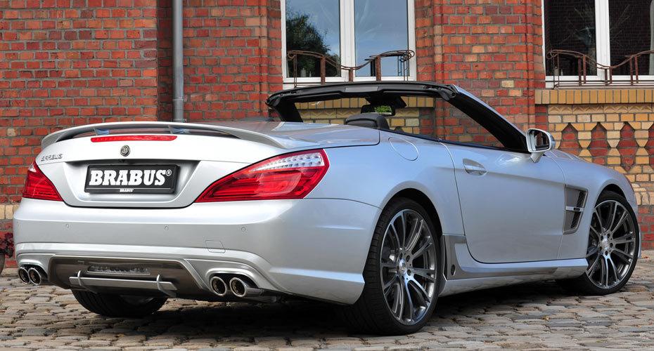 Обвес Brabus для Mercedes SL R231 AMG