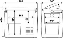 Купить Компрессорный автохолодильник Dometic CoolFreeze CDF-18 от производителя недорого
