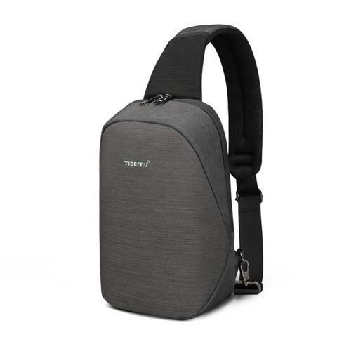 Рюкзак однолямочный Tigernu T-S8061 тёмно-серый