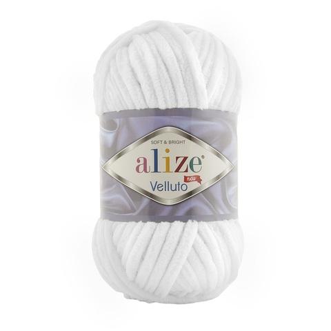 Пряжа Alize Velluto цвет 055