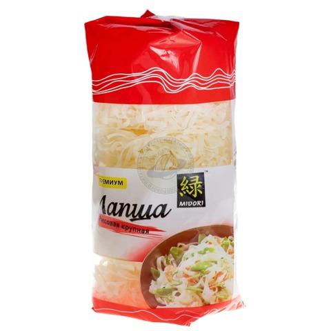 Лапша рисовая крупная Midori 380 гр.