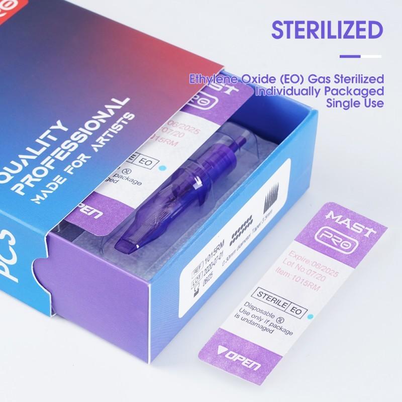 Картридж для тату Mast Pro Cartridges Needles 1003RL (0.30)