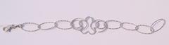 Ромашка (серебряный браслет )