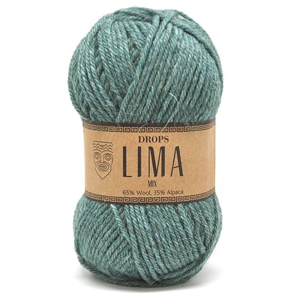Пряжа Drops Lima 9018 морская волна