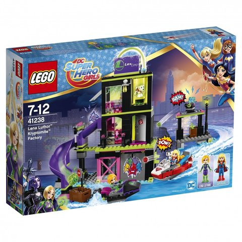 LEGO DC Super Hero Girls: Фабрика криптомитов Лены Лютор 41238 — Lena Luthor Kryptomite Factory — Лего Девушки-супергерои