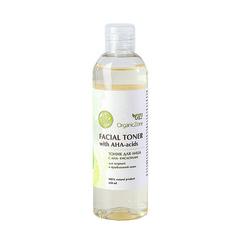 Тоник для жирной кожи лица с AHA-кислотами | 250 мл | Organic Zone