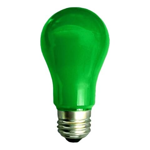 Ecola Лампа A55 LED color 8W E27 Green
