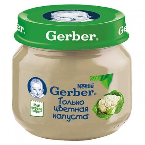 Gerber® Овощное пюре цветная капуста 80гр