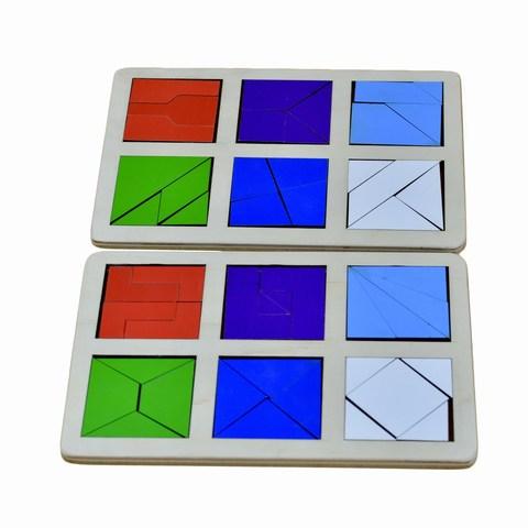 Логическая игра Сложи квадрат Б.П. Никитин уровень 2 RadugaKids (Радуга Кидс) арт. RK1139