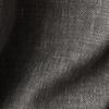 Комплект штор и покрывало Кенна черный